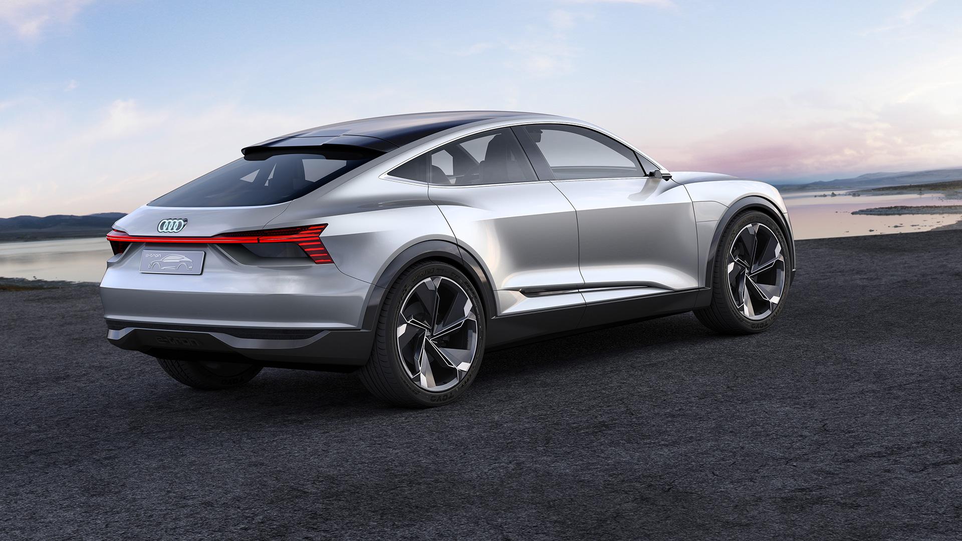Elektrisch Audi-model